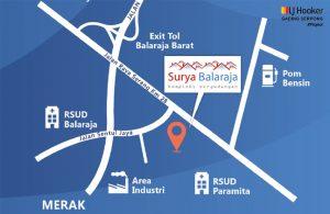 Lokasi Surya Balaraja